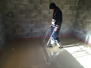 Liquid floor Screed Devon 3