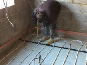 Underfloor heating Devon 3