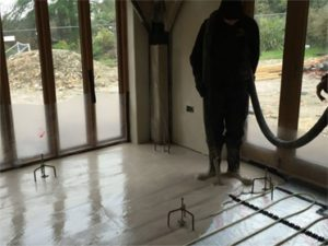 Liquid floor screed 8