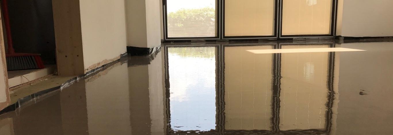 Liquid Screed Flooring Exeter